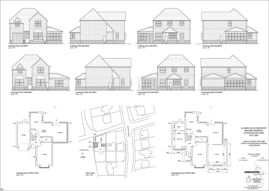 Architectural services in middlesbrough stockton on tees for Looking for an architect to design a house