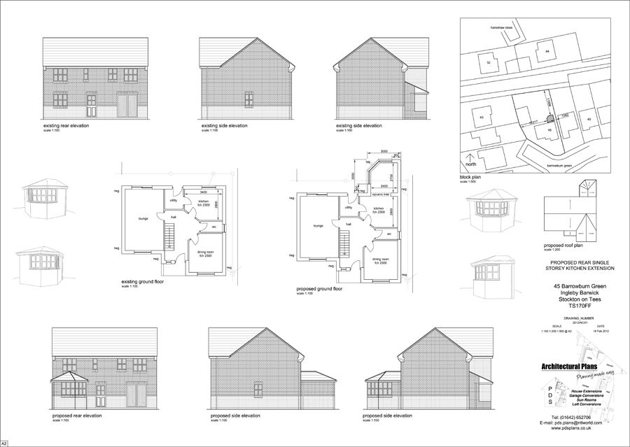 High Quality Sample Architectural Drawings